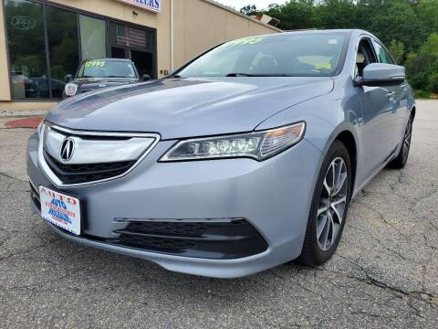 2016 Acura TLX for sale at Auto Wholesalers Of Hooksett in Hooksett NH