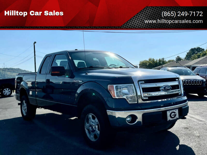 2013 Ford F-150 for sale at Hilltop Car Sales in Knoxville TN