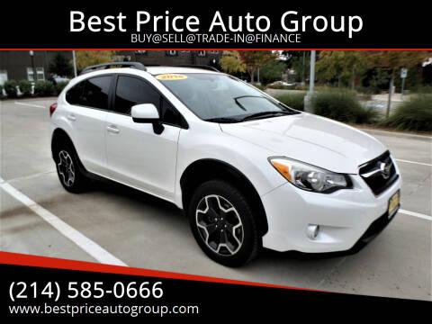 2014 Subaru XV Crosstrek for sale at Best Price Auto Group in Mckinney TX
