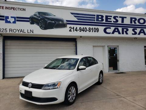 2011 Volkswagen Jetta for sale at Best Royal Car Sales in Dallas TX