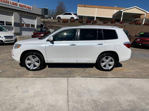 2010 Toyota Highlander for sale at State Line Motors in Bristol VA