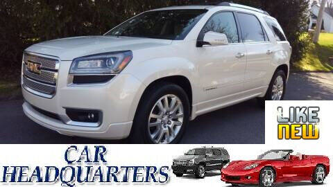2015 GMC Acadia for sale at CAR  HEADQUARTERS in New Windsor NY