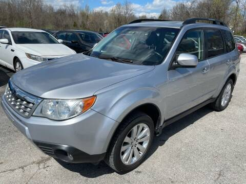 2012 Subaru Forester for sale at Best Buy Auto Sales in Murphysboro IL