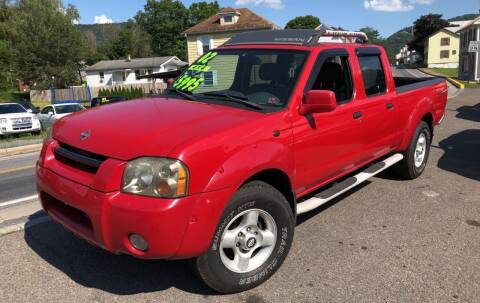 2002 Nissan Frontier for sale at George's Used Cars Inc in Orbisonia PA