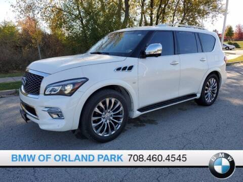 2016 Infiniti QX80 for sale at BMW OF ORLAND PARK in Orland Park IL