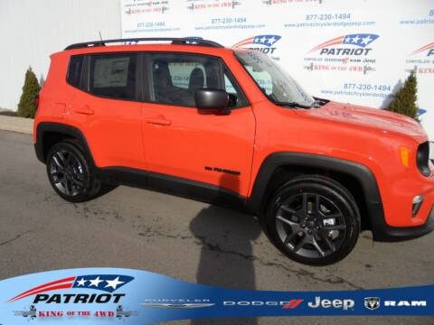 2021 Jeep Renegade for sale at PATRIOT CHRYSLER DODGE JEEP RAM in Oakland MD