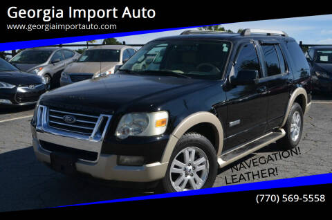2006 Ford Explorer for sale at Georgia Import Auto in Alpharetta GA