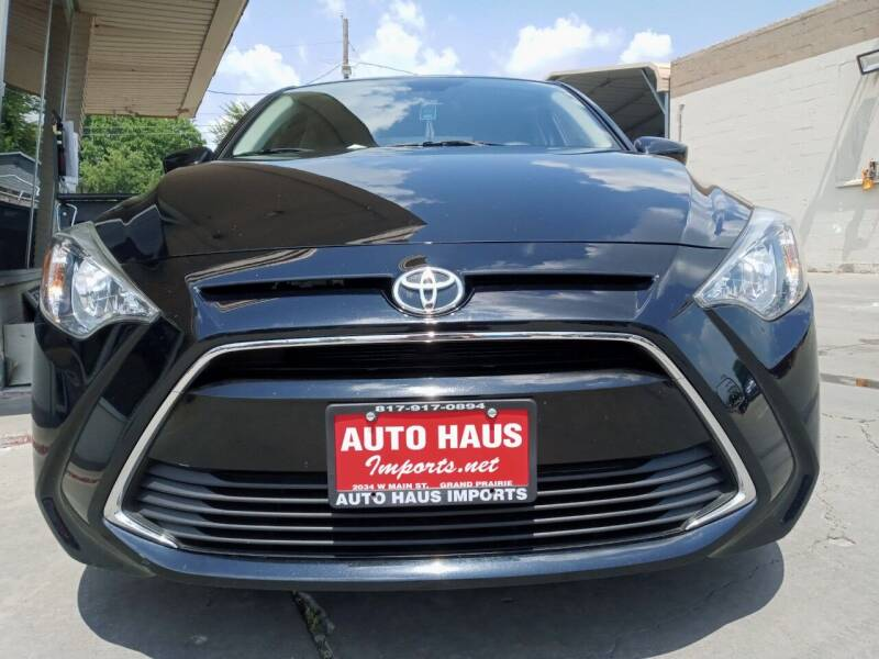 2018 Toyota Yaris iA for sale at Auto Haus Imports in Grand Prairie TX