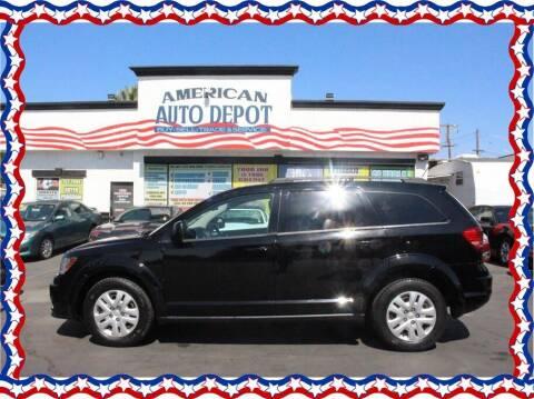 2016 Dodge Journey for sale at American Auto Depot in Modesto CA