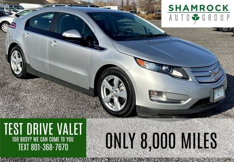 2013 Chevrolet Volt for sale at Shamrock Group LLC #1 in Pleasant Grove UT