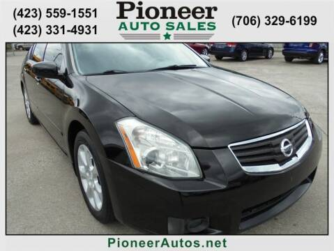 2007 Nissan Maxima for sale at PIONEER AUTO SALES LLC in Cleveland TN