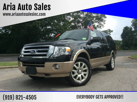 2011 Ford Expedition EL for sale at ARIA  AUTO  SALES in Raleigh NC