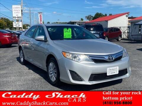 2012 Toyota Camry for sale at CADDY SHACK CARS in Edgewater MD