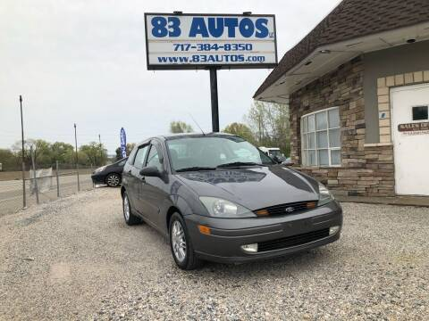 2003 Ford Focus for sale at 83 Autos in York PA