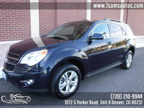2015 Chevrolet Equinox for sale at SAM'S AUTOMOTIVE in Denver CO