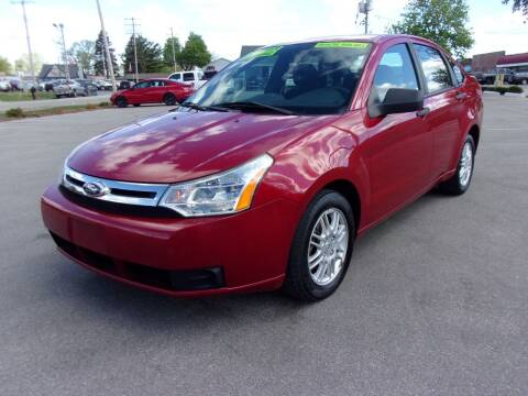 2011 Ford Focus for sale at Ideal Auto Sales, Inc. in Waukesha WI