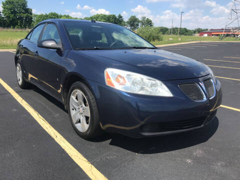 2008 Pontiac G6 for sale at Quality Motors Inc in Indianapolis IN