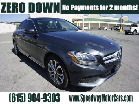 2016 Mercedes-Benz C-Class for sale at Speedway Motors in Murfreesboro TN