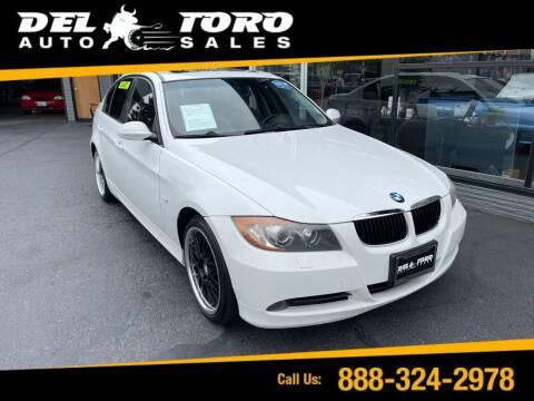 2007 BMW 3 Series for sale at DEL TORO AUTO SALES in Auburn WA