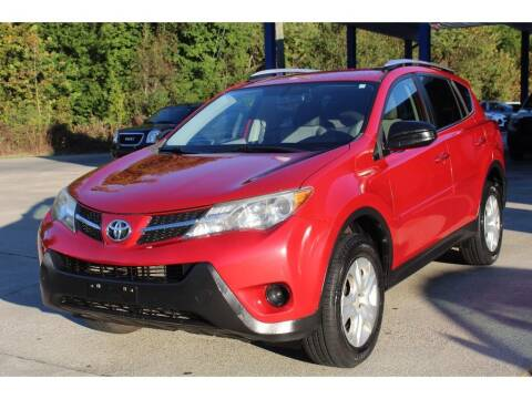 2013 Toyota RAV4 for sale at Inline Auto Sales in Fuquay Varina NC