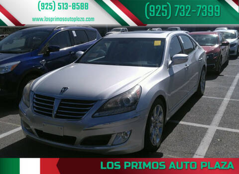 2011 Hyundai Equus for sale at Los Primos Auto Plaza in Brentwood CA