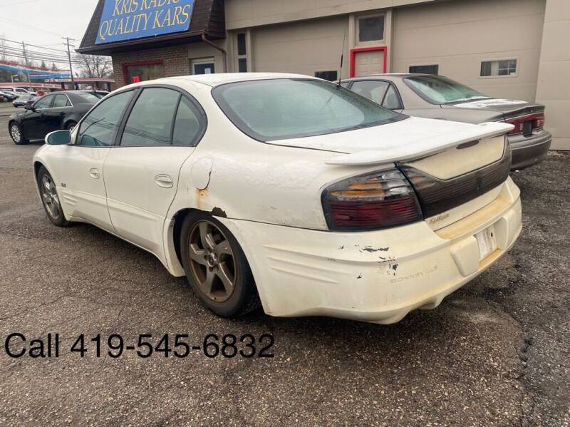 2003 Pontiac Bonneville for sale at KRIS RADIO QUALITY KARS INC in Mansfield OH