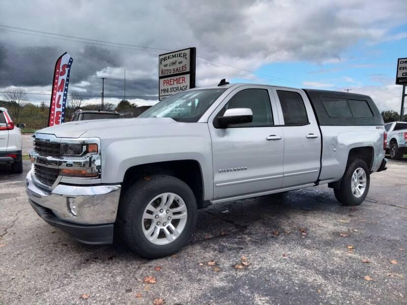 2018 Chevrolet Silverado 1500 for sale at Premier Auto Sales Inc. in Big Rapids MI