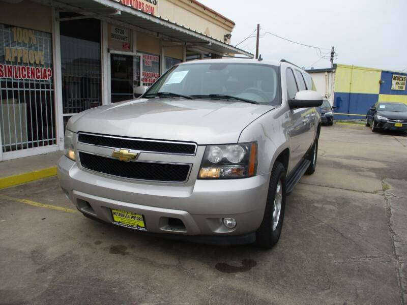 2007 Chevrolet Suburban for sale at Metroplex Motors Inc. in Houston TX