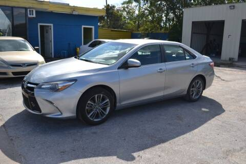 2017 Toyota Camry for sale at Preferable Auto LLC in Houston TX