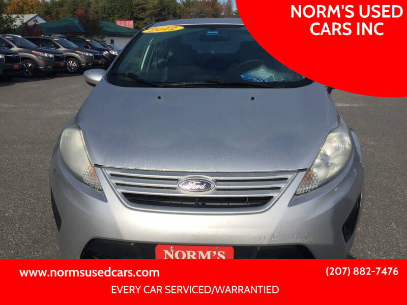 2012 Ford Fiesta for sale at NORM'S USED CARS INC in Wiscasset ME