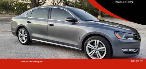 2014 Volkswagen Passat for sale at Royal Auto Trading in Tampa FL