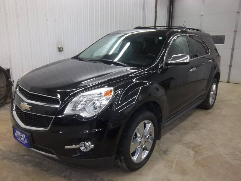 2012 Chevrolet Equinox for sale at Wieser Auto INC in Wahpeton ND