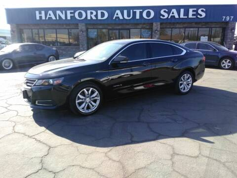 2017 Chevrolet Impala for sale at Hanford Auto Sales in Hanford CA