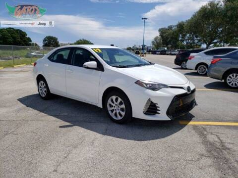 2017 Toyota Corolla for sale at GATOR'S IMPORT SUPERSTORE in Melbourne FL