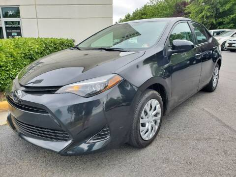 2019 Toyota Corolla for sale at M & M Auto Brokers in Chantilly VA