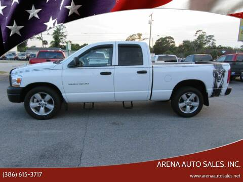 2006 Dodge Ram Pickup 1500 for sale at ARENA AUTO SALES,  INC. in Holly Hill FL