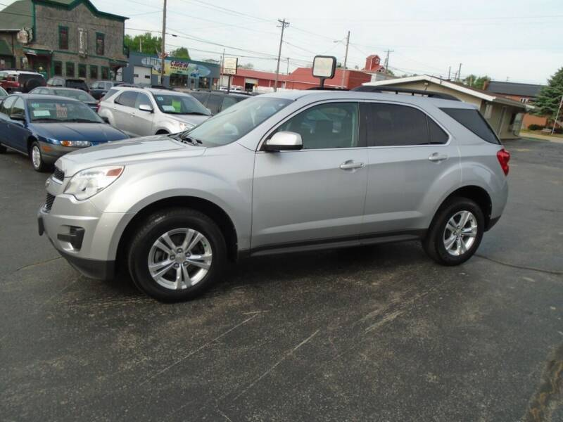 2010 Chevrolet Equinox for sale at NORTHLAND AUTO SALES in Dale WI