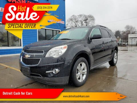 2012 Chevrolet Equinox for sale at Detroit Cash for Cars in Warren MI