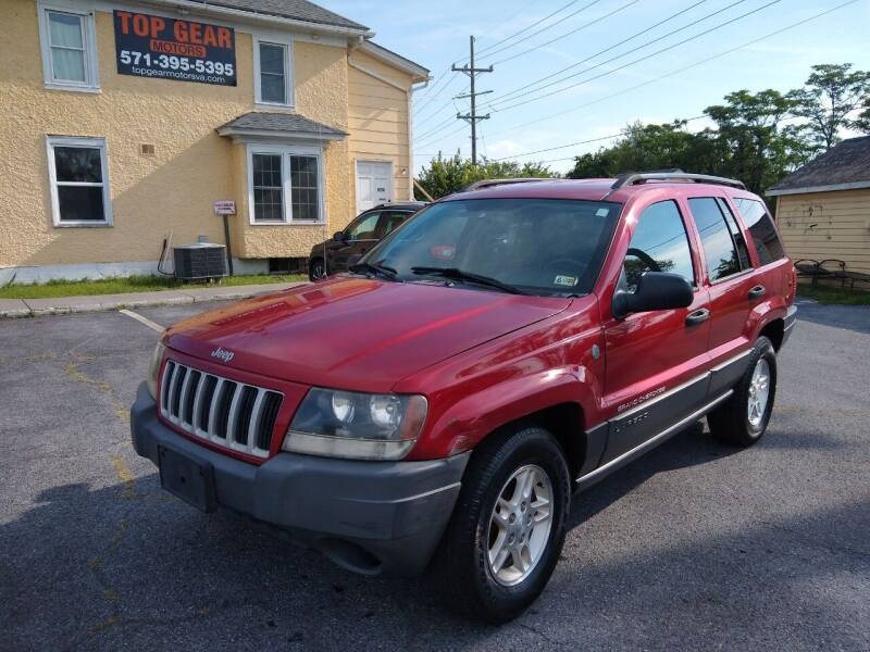 2004 Jeep Grand Cherokee for sale at Top Gear Motors in Winchester VA