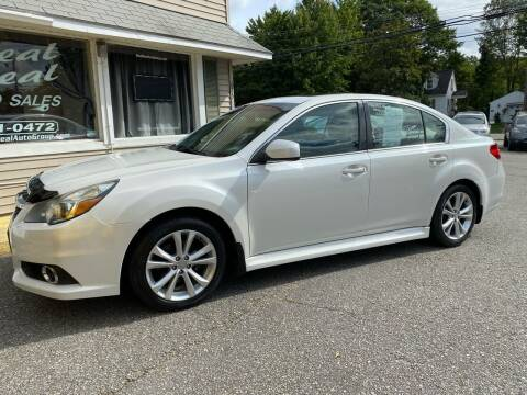 2014 Subaru Legacy for sale at Real Deal Auto Sales in Auburn ME