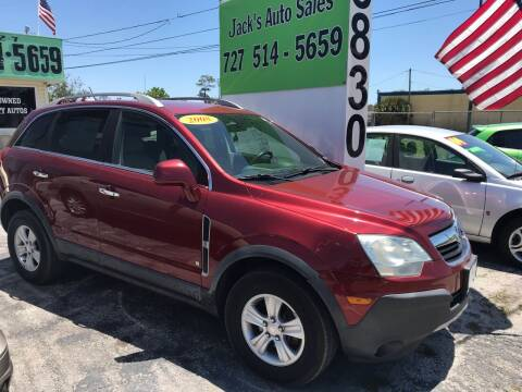 2008 Saturn Vue for sale at Jack's Auto Sales in Port Richey FL