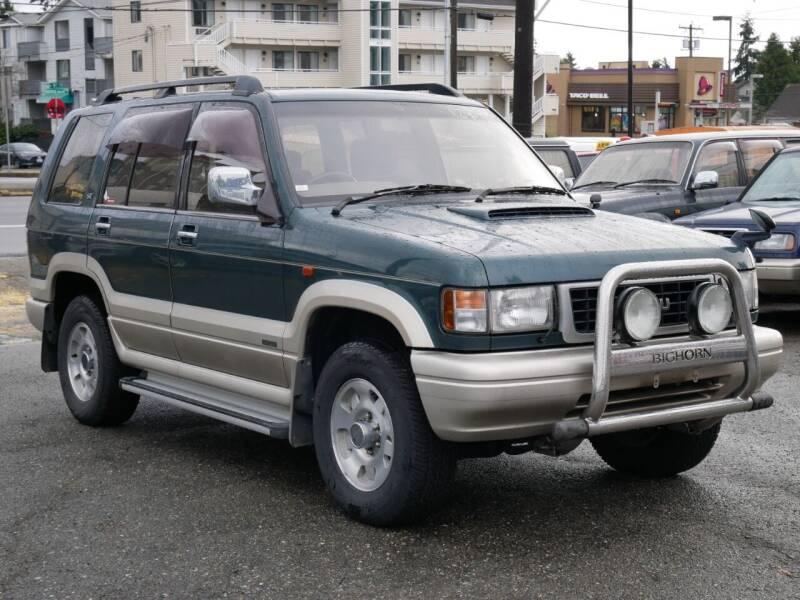 1995 Isuzu Bighorn Turbo Diesel for sale at JDM Car & Motorcycle LLC in Seattle WA