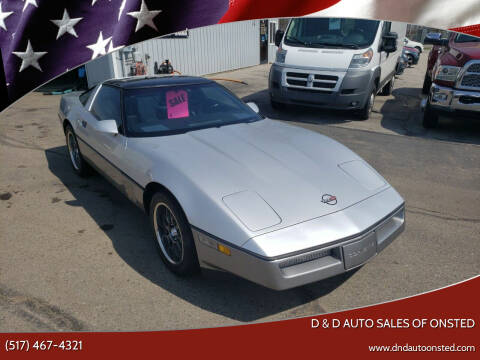 1984 Chevrolet Corvette for sale at D & D Auto Sales Of Onsted in Onsted   Brooklyn MI