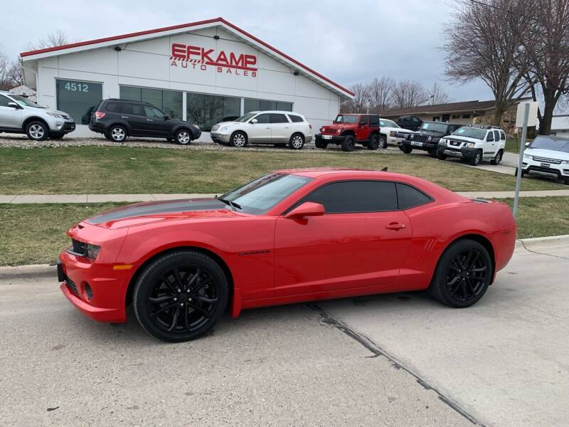 2010 Chevrolet Camaro for sale at Efkamp Auto Sales LLC in Des Moines IA