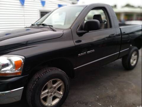 2006 Dodge Ram Pickup 1500 for sale at Plaistow Auto Group in Plaistow NH