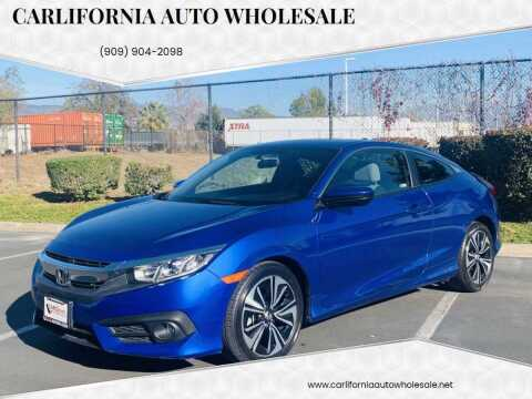 2018 Honda Civic for sale at CARLIFORNIA AUTO WHOLESALE in San Bernardino CA