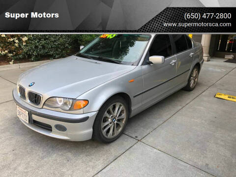 2004 BMW 3 Series for sale at Super Motors in San Mateo CA