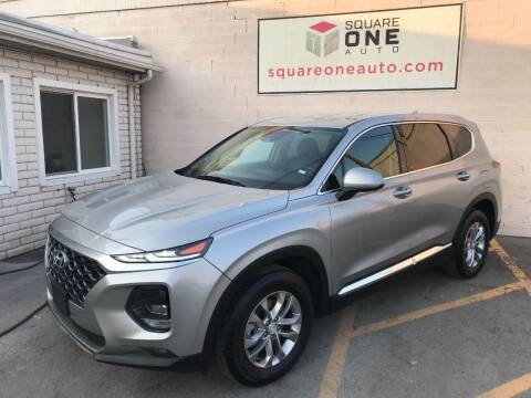2020 Hyundai Santa Fe for sale at SQUARE ONE AUTO LLC in Murray UT