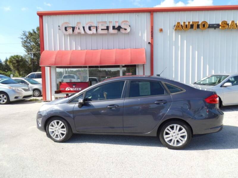 2012 Ford Fiesta for sale at Gagel's Auto Sales in Gibsonton FL