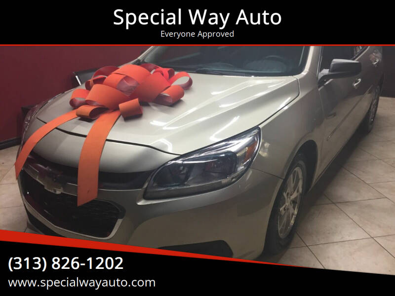 2014 Chevrolet Malibu for sale at Special Way Auto in Hamtramck MI